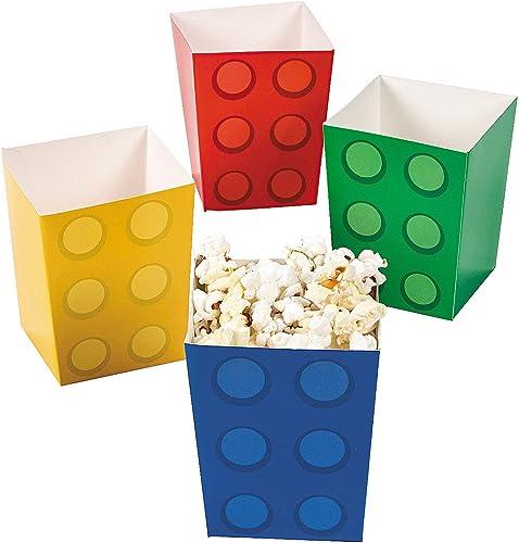 Fun Express Block Party Popcorn Boxes