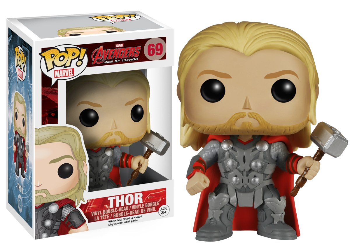 Avengers 2 Funko Marvel Thor Bobble Head Action Figure 4780 Accessory Toys /& Games Miscellaneous