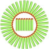 AMOSTING Refill Darts 100PCS Bullet for Nerf N-Strike Elite Zombie Strike Rebelle - Green