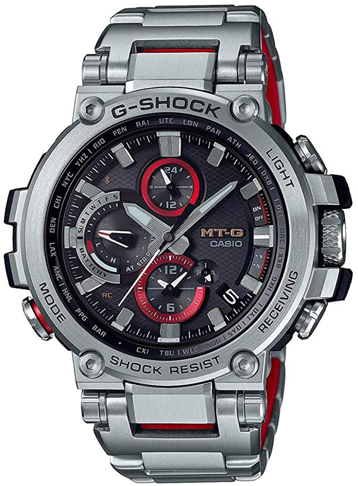 G-Shock By Casio Mens Analog MTGB1000D-1A Analog-Quartz Resin ...