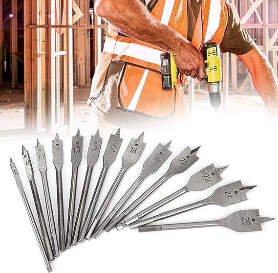 1 unidad di/ámetro de corte r/ápido 6 230 mm//350 mm de largo 32 mm multicolor juego de brocas de madera Broca para taladro de carpintero con v/ástago hexagonal para carpintero