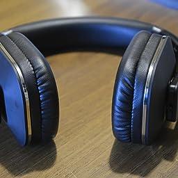 Amazon.it Recensioni clienti  August EP650 Cuffie Bluetooth v4.2 aptX LL -  Auricolari Stereo Senza Fili Circumaurali NFC Microfono e Multipoint Nero 5bd2de0135d3