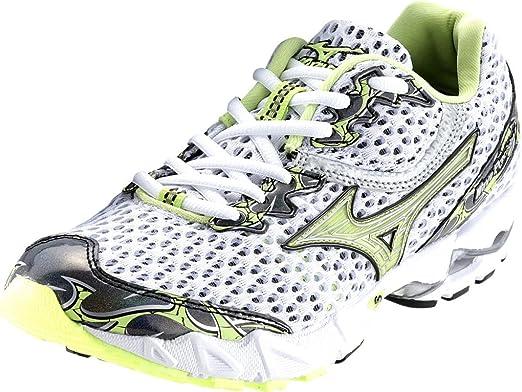 Mizuno Wave Precision 11 Unidad Zapatos Mujer, Mujer, weiß - Schwarz - Gelb, 38: Amazon.es: Deportes y aire libre