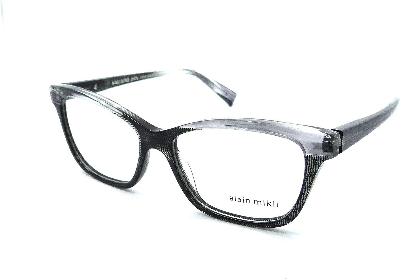 Alain Mikli Rx Eyeglasses Frames A03037 003 53-15-140 Paint Black/Black Dot 71nHM2BYI0OLUL1500_