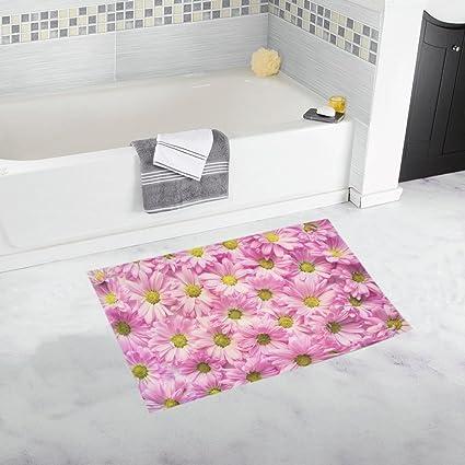 Amazon Pink Daisies Flowers Backdrop Copy Space Unique Custom