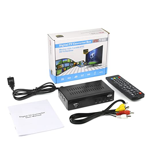 Review Digital TV Converter Full