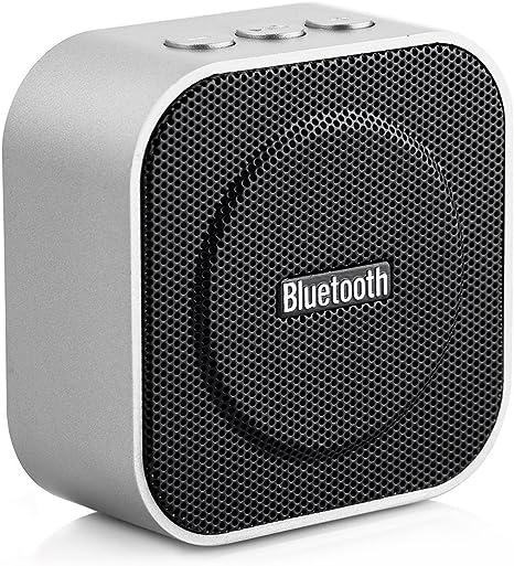 Tera Mini Altavoz Bluetooth con TF Ranura de Tarjeta 4.0, USB, AUX ...