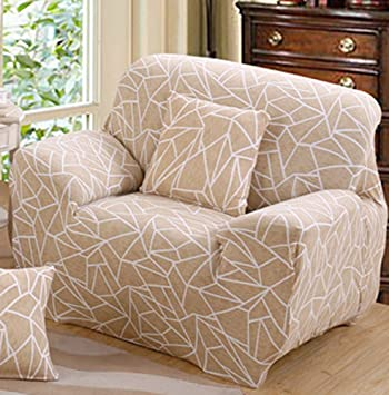Terrific Amazon Com Chezmax Printed Couch Cover Polyester Spandex Ncnpc Chair Design For Home Ncnpcorg