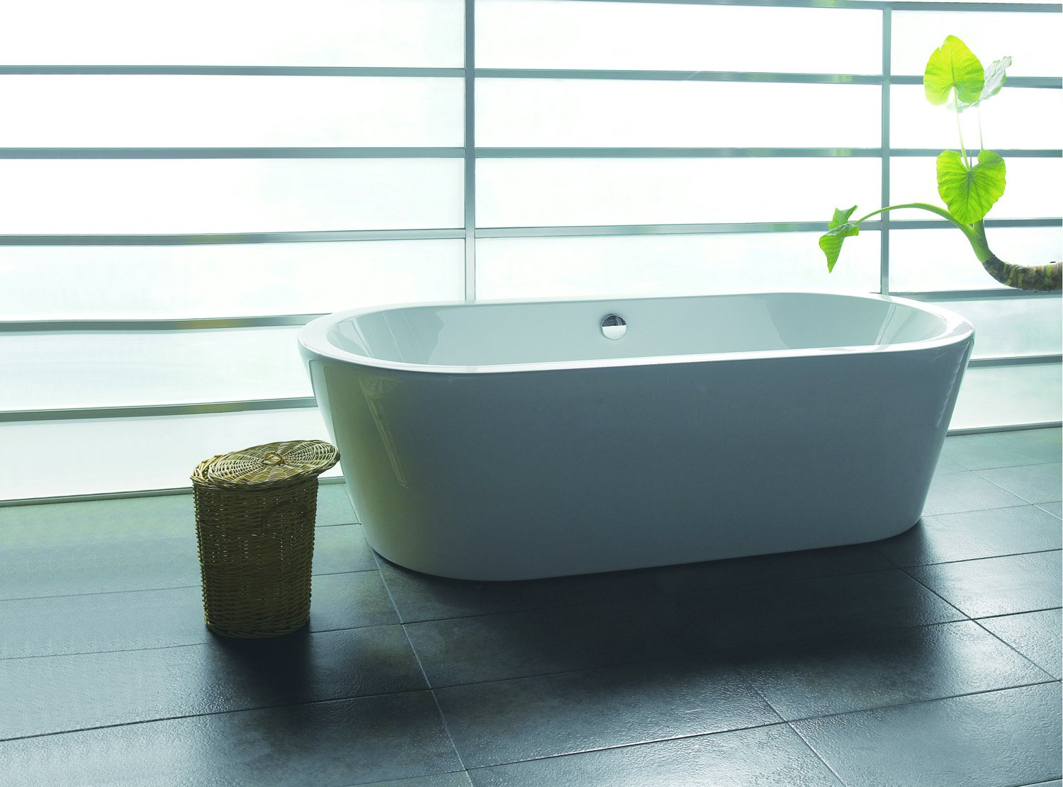 AKDY F224 Bathroom White Color Free Standing Acrylic Bathtub ...