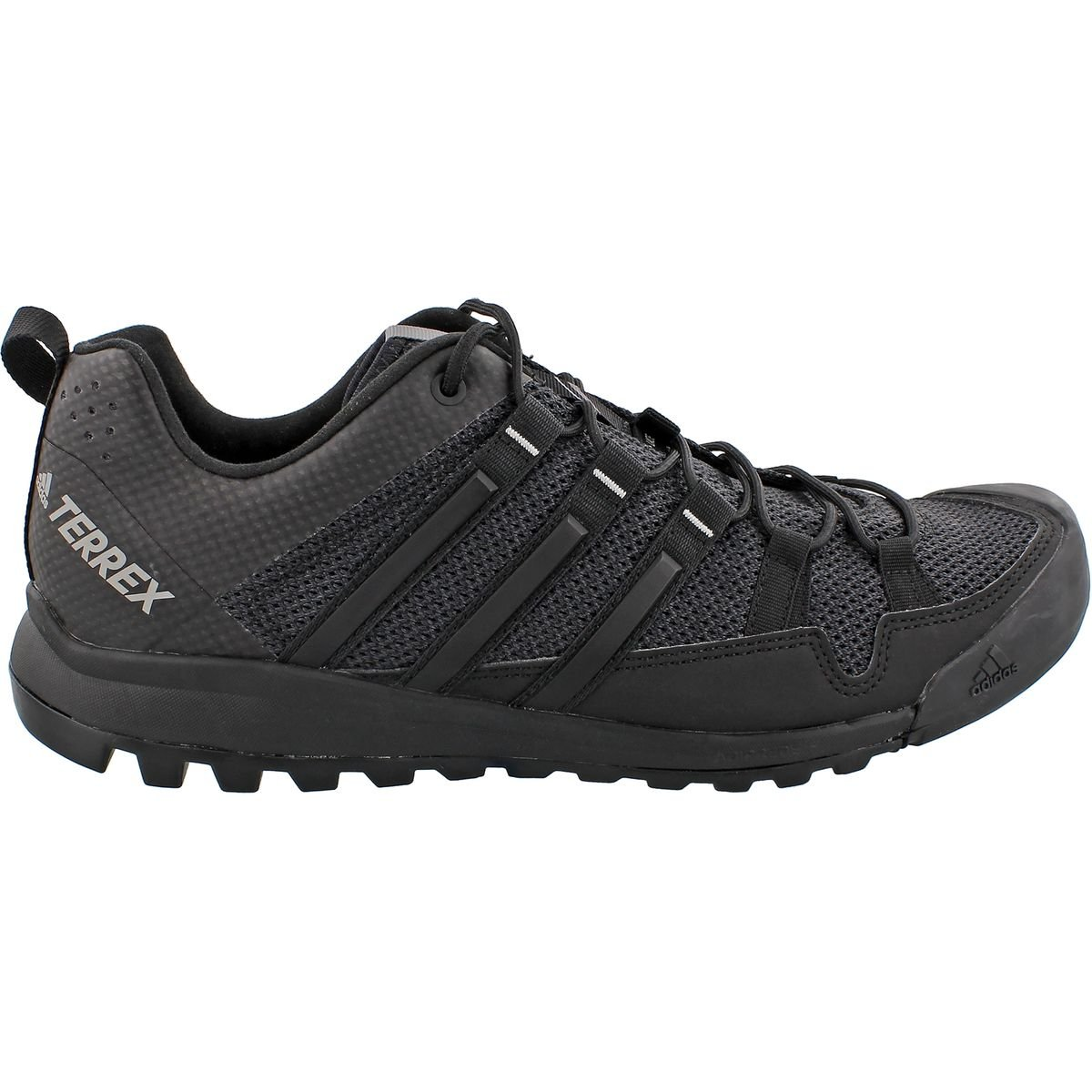 adidas Menƒ_Ts Terrex Solo Hiking/Running Shoes Grey/Black/Grey 8.5
