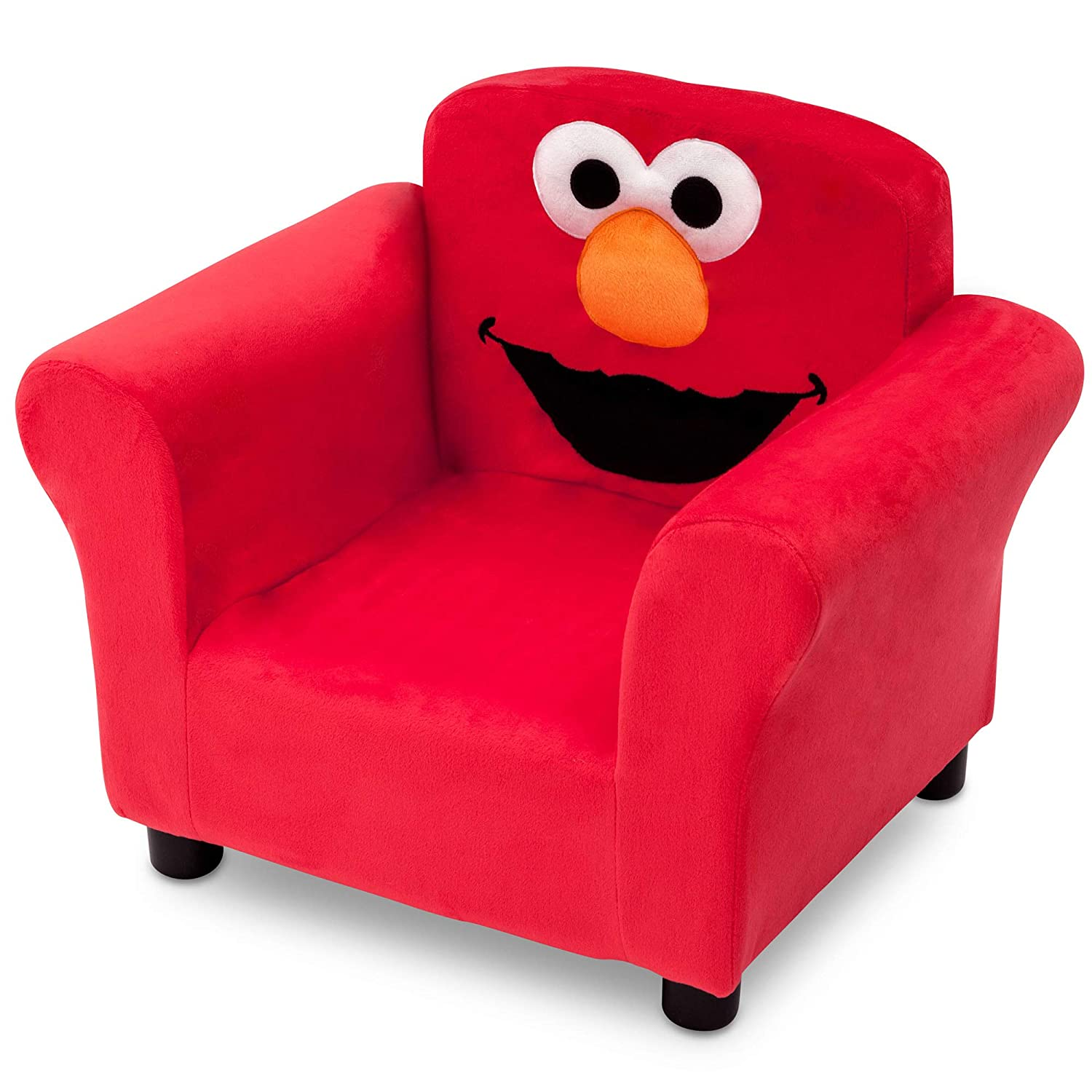 Amazon com sesame street elmo upholstered chair baby