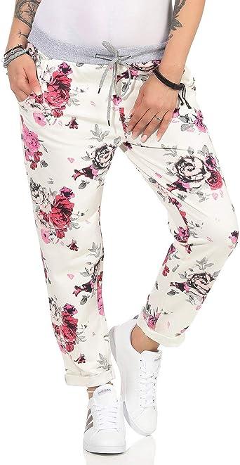ZARMEXX Pantalón de chándal para Mujer Pantalón de Verano de Baggy ...