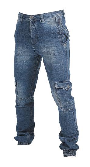 URBNLIVING Lee Cooper - Pantalones Vaqueros para Hombre, Mid ...