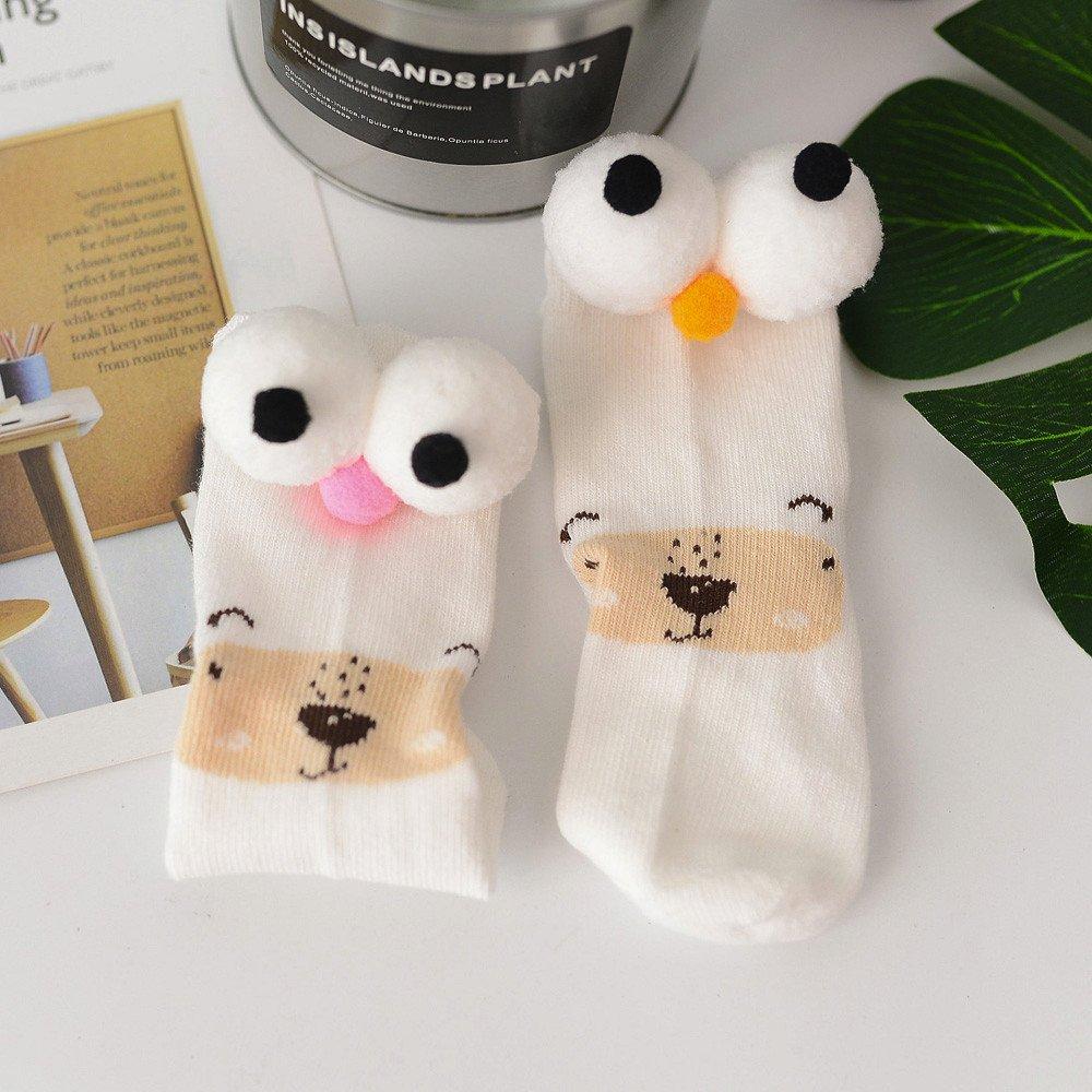 CZYCO Cotton Cartoon Eyes Rabbit Socks Stocking for Baby Boys Girls Toddler Kids