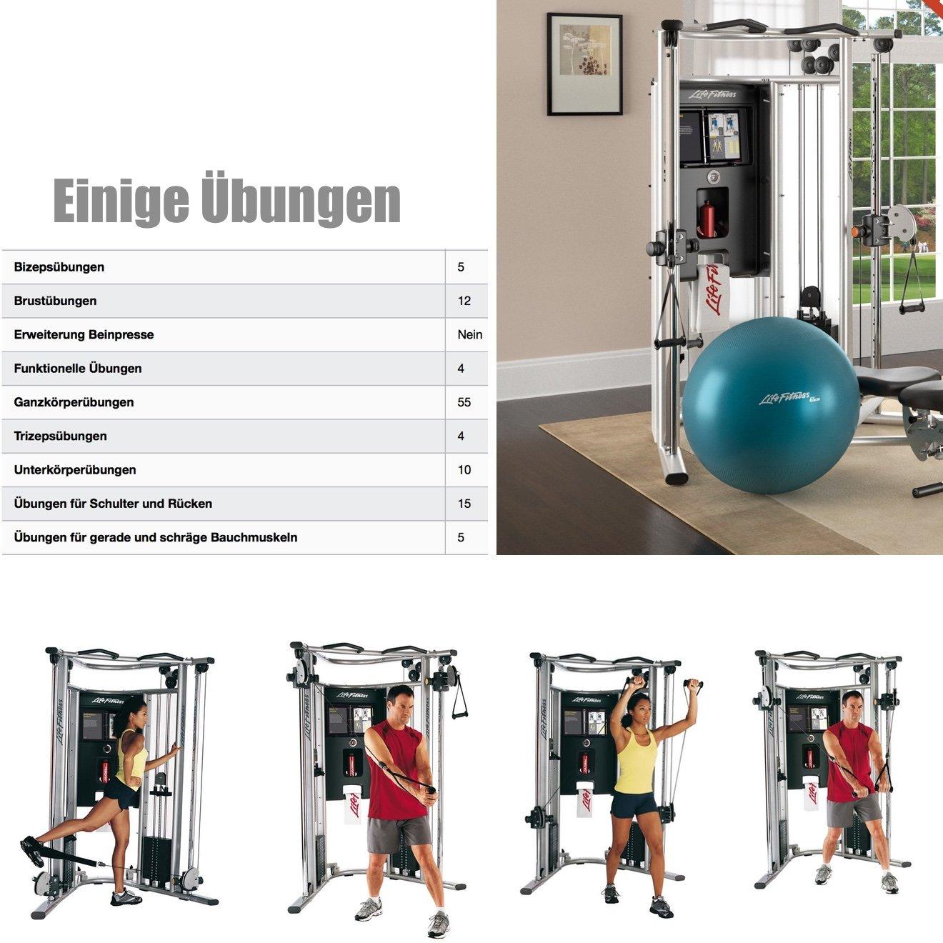 Life fitness G7 multi station - mehg - fitness station con banco de pesas: Amazon.es: Deportes y aire libre