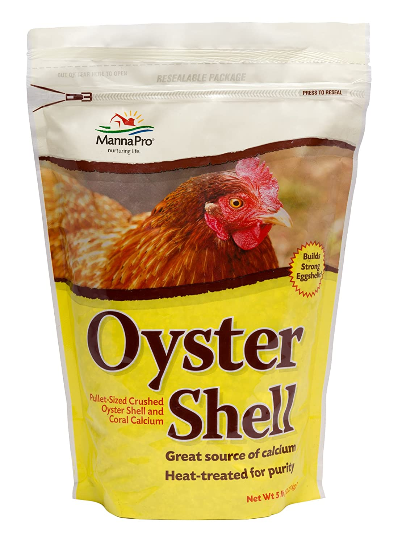 Manna Pro Oyster Shell, 5-Pounds