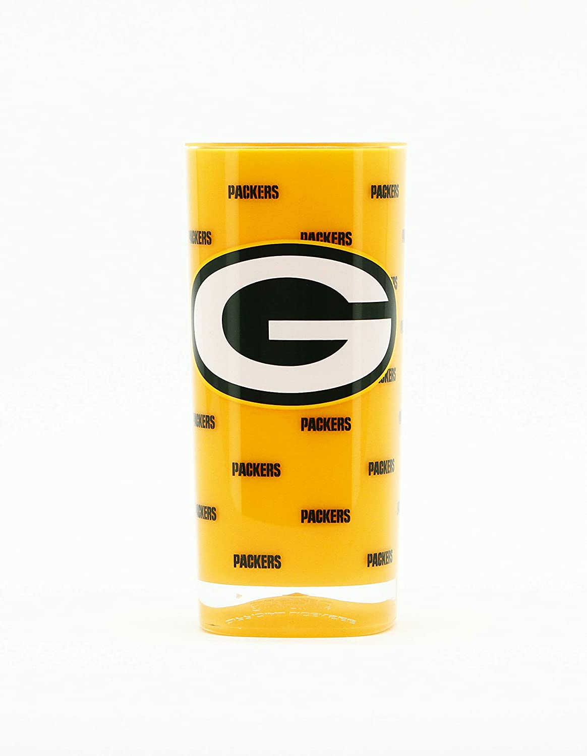 NFL Green Bay Packers 16oz Insulated Acrylic Square Tumbler