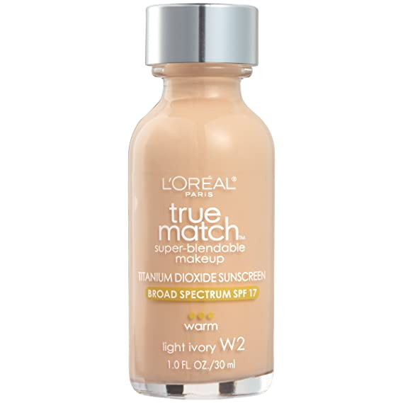 LOREAL True Match Super Blendable Makeup - Light Ivory: Amazon.es: Salud y cuidado personal