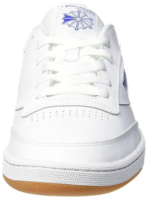 c3212badb5901 Reebok Men s Club C 85 AR0459 Low-Top Trainers  Amazon.co.uk  Shoes   Bags
