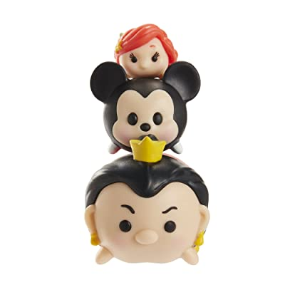 Tsum Tsum 3-Pack Figures: Queen of Hearts/Mickey/Ariel: Toys & Games