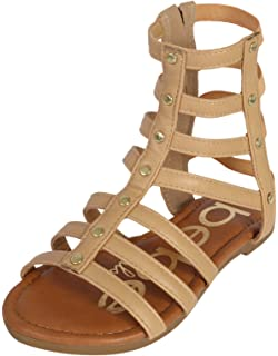 59b3c419310 bebe Girls Strappy Gladiator Sandal (Toddler Little Kid Big Kid)