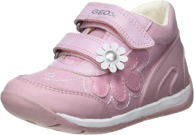 Geox Baby Each Girl, Zapatillas para Bebés