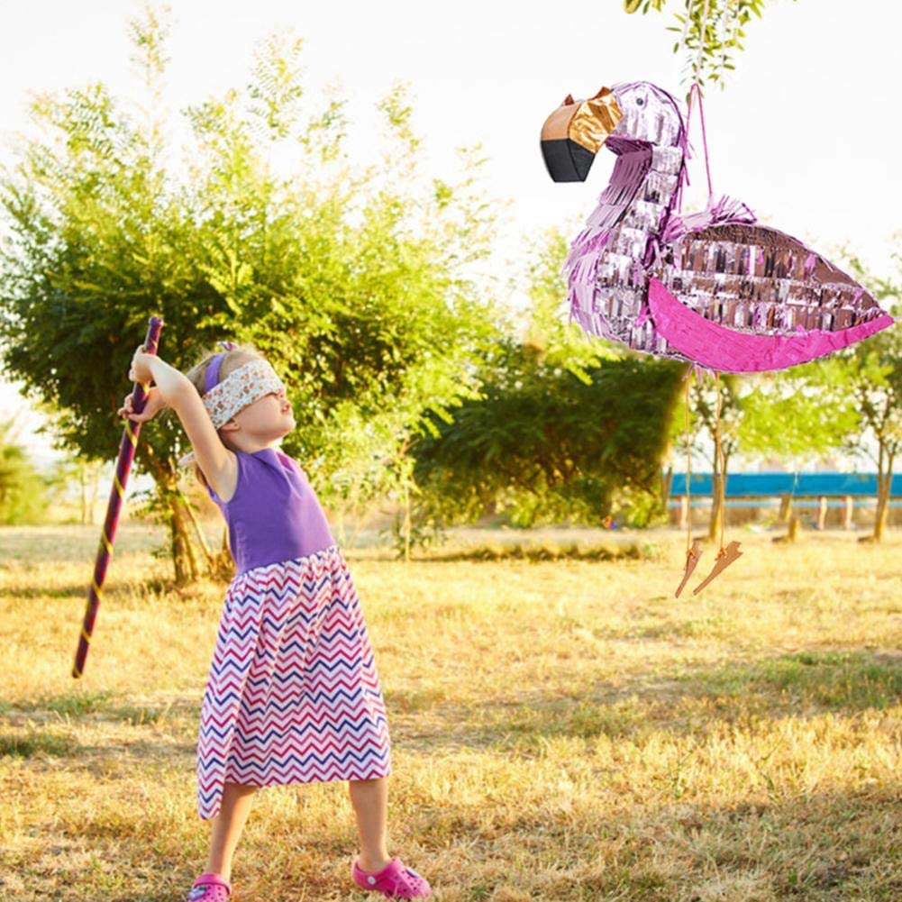 runnerequipment Foil Pinata Props Toy Flamingo Pinata Birthday Party Supplies for Children