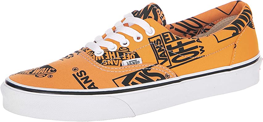 Vans Trainers UA Era (Logo Mix) TangerineBlack: Amazon