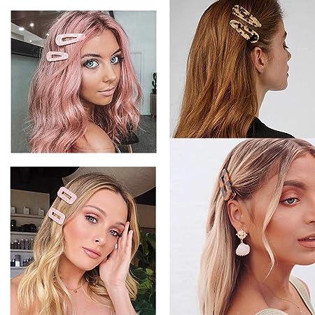 4pcs Acrylic Barrette,Stylish Hair Chip,Lovely Hair Claw Clip,Hair Pin For Girl,Girlish Hair Clip,Acetate Hair Clip,Hair Accessories.