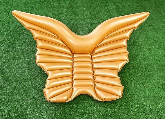 Sucastle Flotador Inflable para Piscina con Forma de Mariposa, con para Adultos niños Playa Fiestas de Piscina Juegos Decoraciones de salón ...