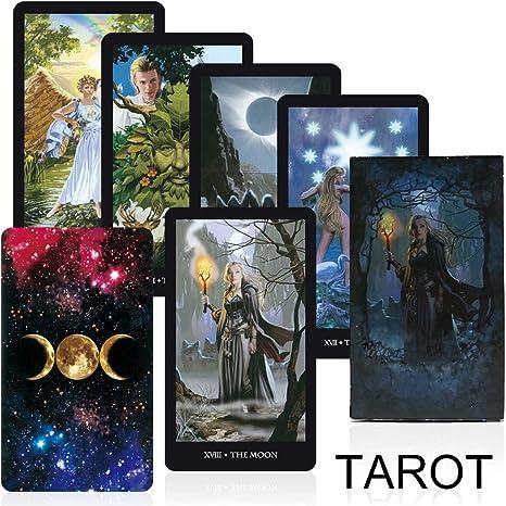Streghe Tarocchi Deck Board Game Alta qualit/à Fatta di Leggi Il Destino Mythic Divinazione Giochi di Carte