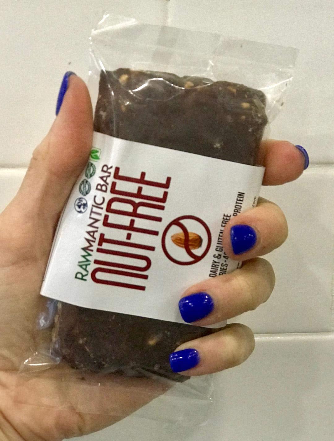 Rawmantic nut-free gluten free protein bar