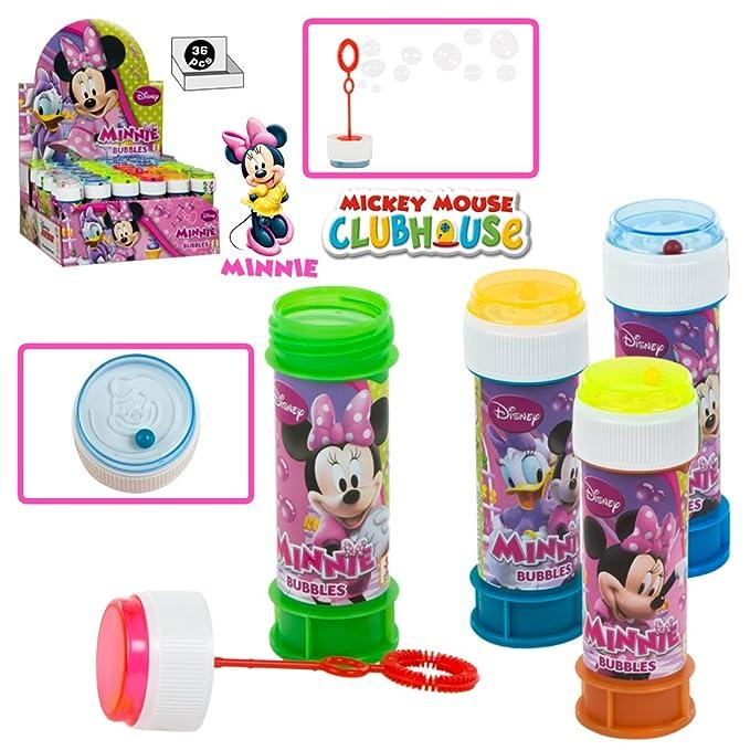 Amazon.com: Burbuja Tinas Minnie Mouse PK36 [Juguete]: Toys ...