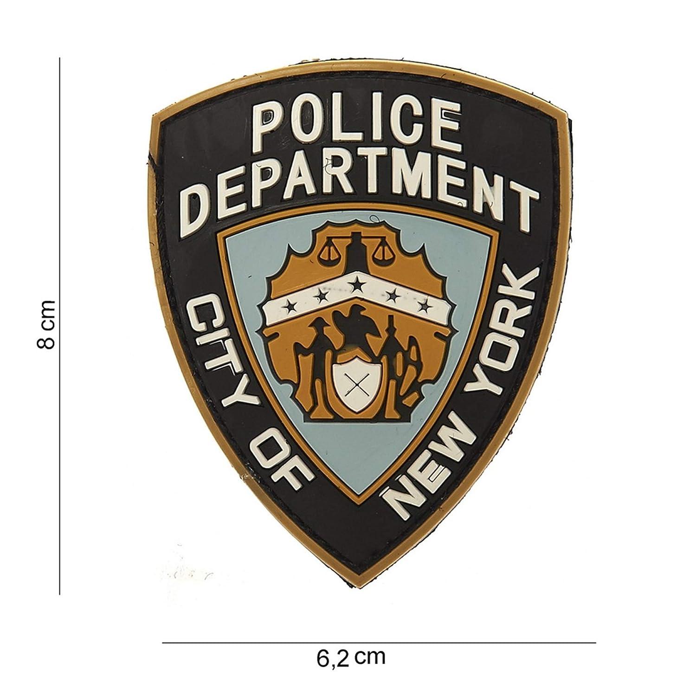 Tactical Attack Police Department Multi Softair Sniper PVC Patch Logo Klett inkl gegenseite zum aufn/ähen Paintball Airsoft Abzeichen Fun Outdoor Freizeit