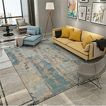 ZGZVSZJL Teppich, Der Nordic Abstrakt Tinte Modern Minimalist Art Sofa Im  Wohnzimmer Couchtisch Teppiche Schlafzimmer