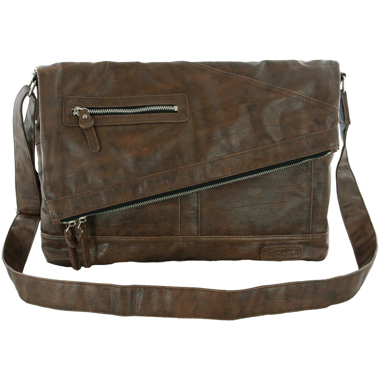 [トリックスター] TRICKSTER ERIC shoulder bag B009KGOIQW D,BROWN D,BROWN