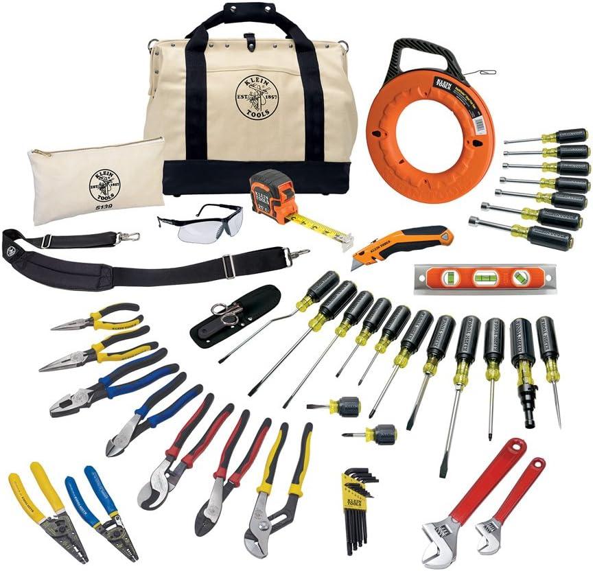 Klein Tools 80141Journeyman herramienta juego, destornillador