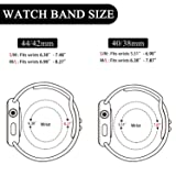 YOUKEX Sport Band Compatible with Watch 38mm 40mm