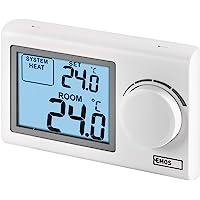 EMOS P5604 - Termostato digital de pared, termostato de pared manual para sistemas de calefacción y refrigeración…