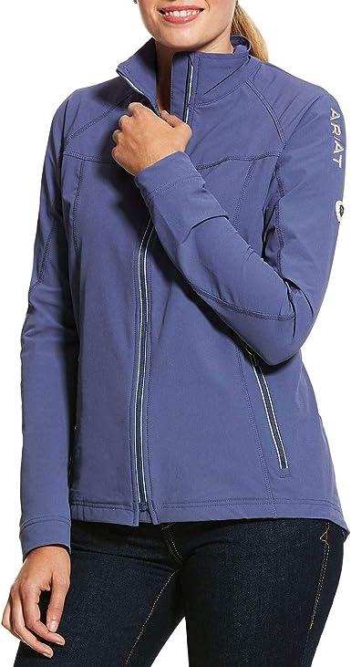ARIAT Womens Agile 2.0 Softshell Jacket Plum Grey