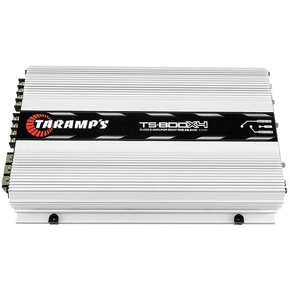 TARAMPS TA-TS800x41OHM 4-Channels 800 Watts RMS Class D Power Amplifier