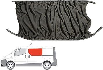 Gris cortina de furgoneta Kit de conversión para la mano izquierda Puerta Corredera ventana