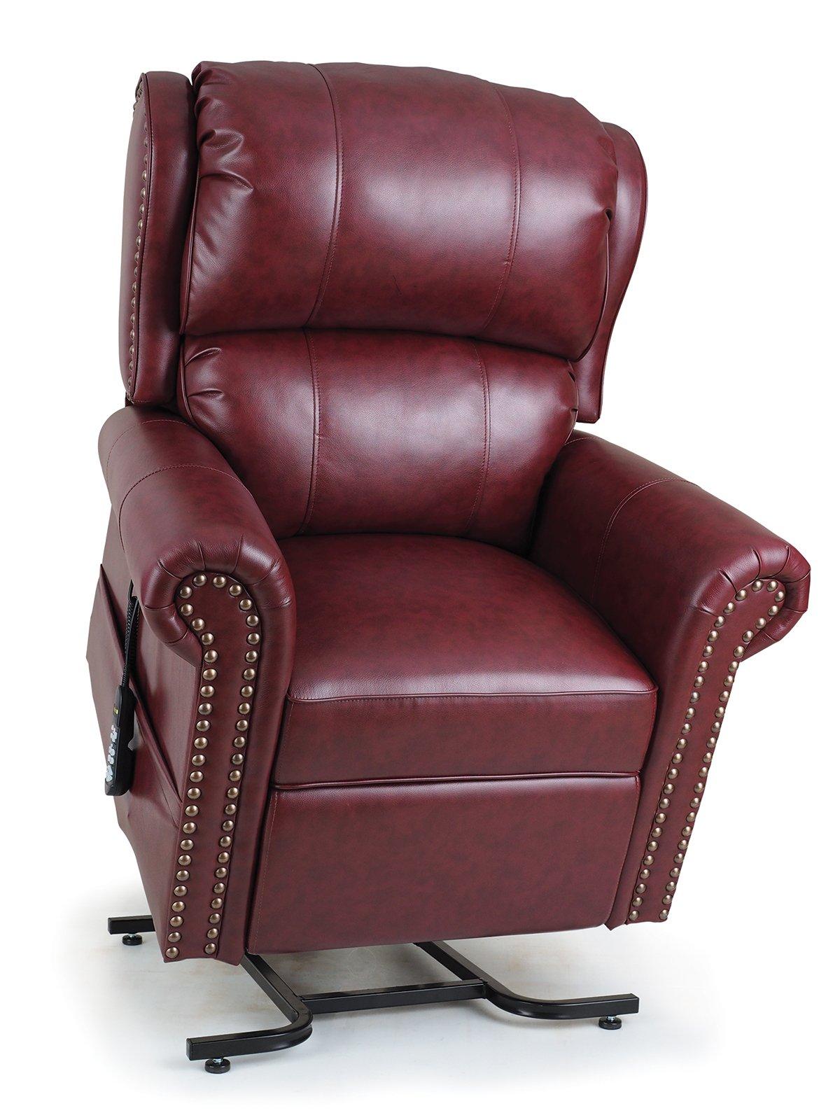 Golden Technologies Maxicomfort Pub Lift Chair PR-712 - Geranium (Valor Vinyl)