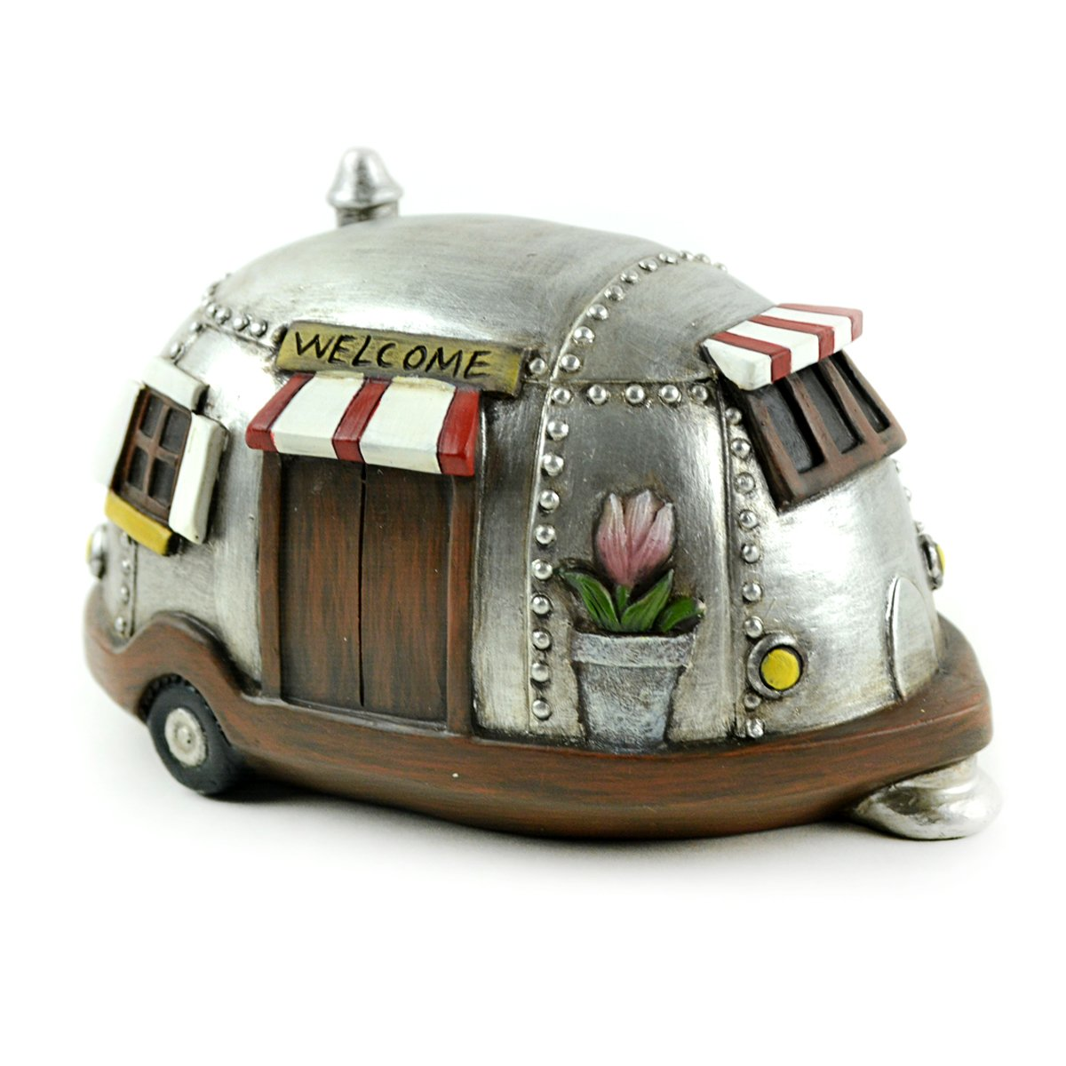 Fairy Garden Sets in Resin with Fine Detailing (Welcome to Las Vegas Sign Camper and Gnomes) by Clever Home (Image #3)