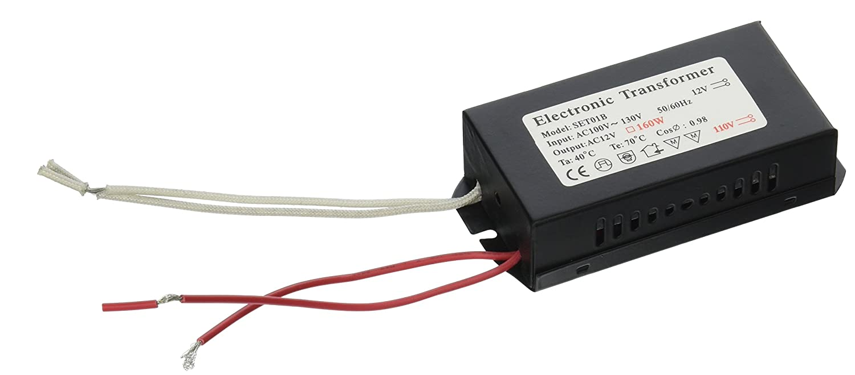 12Vmonster 160W 100V-120V Halogen Spot Lamp Power supply Low voltage  transformer MR16 bulb driver - Led Household Light Bulbs - Amazon.com