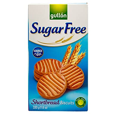 Gullon sugar free biscuits shortbread cookies amazon grocery gullon sugar free biscuits shortbread cookies negle Images
