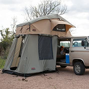 Amazon.com Tuff Stuff Ranger Overland Rooftop Tent with Annex Room Sports u0026 Outdoors & Amazon.com: Tuff Stuff Ranger Overland Rooftop Tent with Annex ...