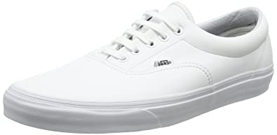 d242327962b Image Unavailable. Image not available for. Color  Vans  quot Classic Era  Tumble Sneakers (True White) ...