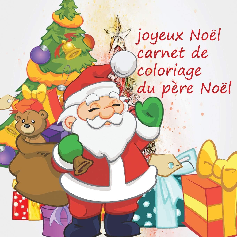 Buy joyeux Noël carde coloriage du père Noël: livre de