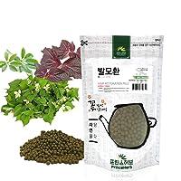 [Medicinal Korean Herbal Pills] 100% Natural Hair Restoration Pills (Houttuynia Cordata, Perilla Frutescens and Green Tea/발모환) (8 oz)